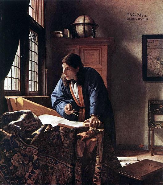 Geographer by Vermeer