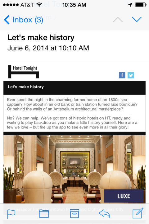 HT email 1